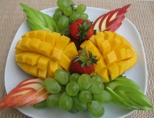 Một dĩa trái cây rất đơn giản nhưng cũng đủ sức hấp dẫn bạn rồi đấy nhỉ!