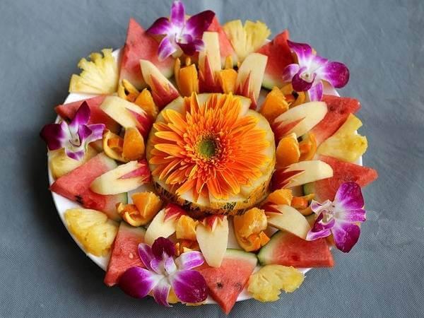 Hoa và trái cây, tại sao không?
