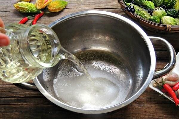 Nước giấm đường cho các món chua ngọt