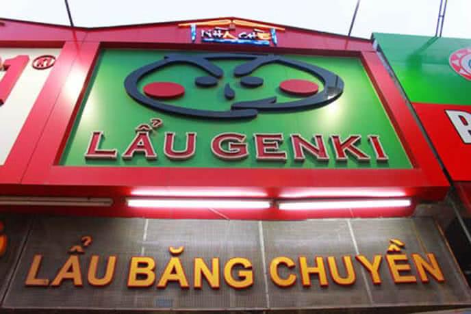 Lẩu băng chuyển Genki - một trong những nhà hàng lẩu băng chuyền Hà Nội ngon nhất