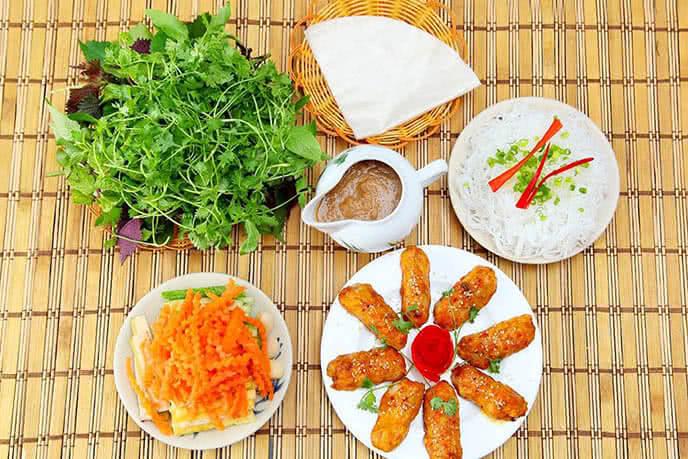 Những món ăn được chế biến đặc biệt, giữ nguyên phong vị miền Nam vốn có