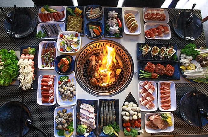 Nhà hàng buffet lẩu nướng Seoul BBQ