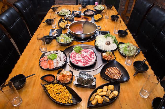 Nhà hàng Moon BBQ ghi dấu với thực đơn buffet phong phú