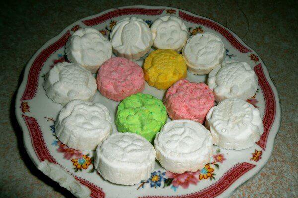 3 cách làm bánh in nhân dừa, đậu xanh, cách làm bánh in gõ (bánh Phục Linh) bằng khuôn tại nhà