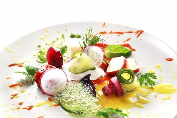 Nét tinh tế, độc đáo của món ăn được làm từ phương pháp Ẩm thực phân tử.