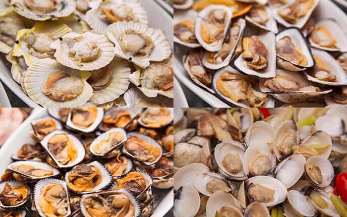 Những món hải sản hấp dẫn tại nhà hàng