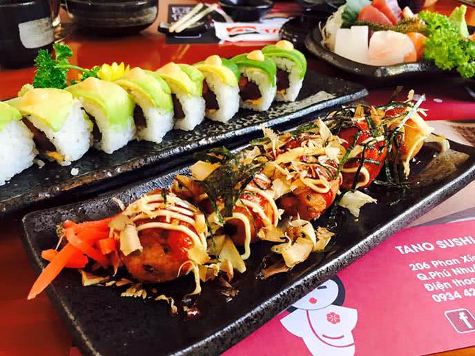 Nét quyến rũ của Tano Sushi