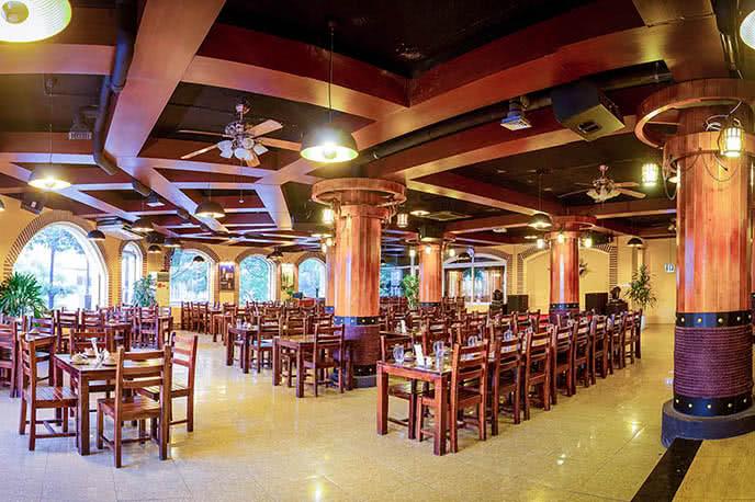 Không gian đậm chất Latin tại nhà hàng