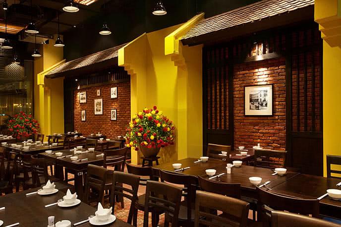 Không gian đẹp và đậm chất Hà Nội xưa tại nhà hàng
