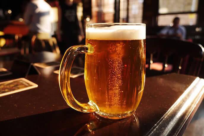 Bia ngon hảo hạng chính là bí quyết của nhà hàng ngon ở Câu Giấy này