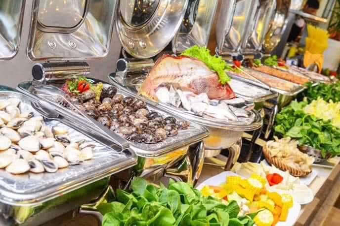 Nhà hàng khá mạnh về hải sản