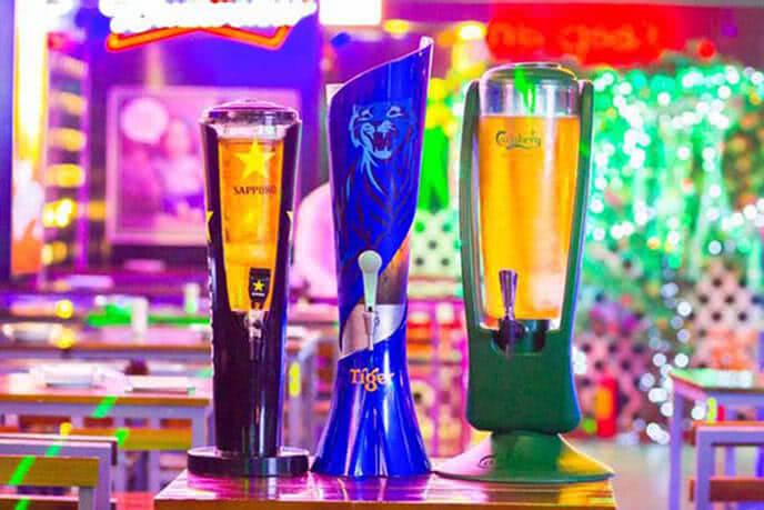 Khám phá bia, thực đơn hấp dẫn tại Hula Beer Club 321A Phạm Văn Đồng