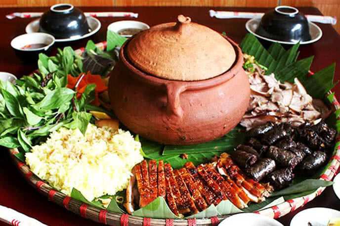 Các món ăn được chế biến từ lợn Mán