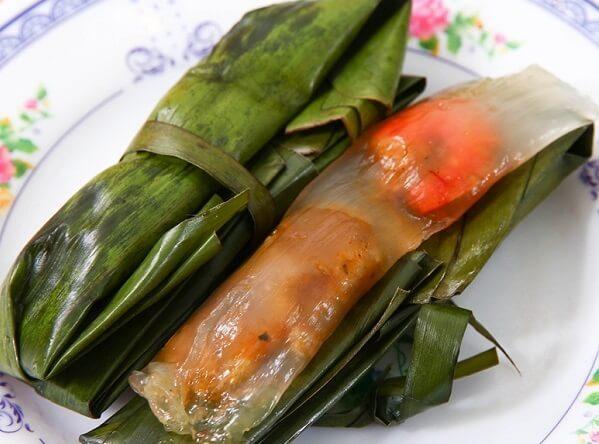 Bánh bột lọc gói xứ Huế