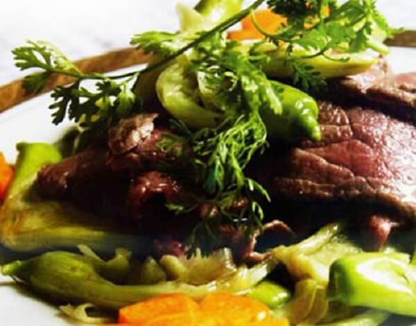 Bông so đũa xào thịt bò