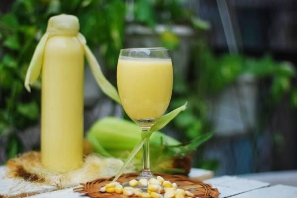 Sữa bắp là nguồn cung cấp chất sắt, giúp hỗ trợ trí não phát triển.