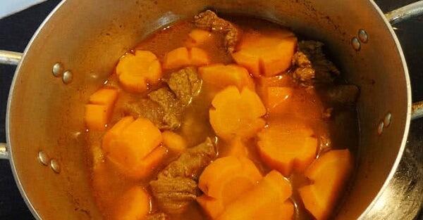 2 cách làm bò nấu đậu hà lan cà rốt, bắp bò hầm đậu trắng thơm ngon đơn giản tại nhà 1