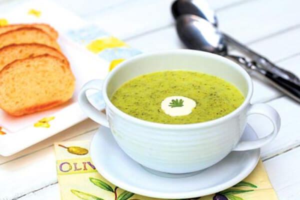 Cách làm món súp chay rau củ