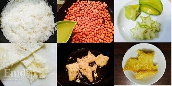 Sơ chế nguyên liệu nấu cơm hến