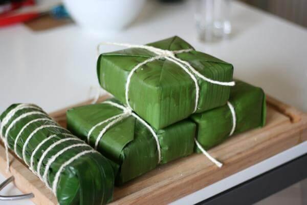 Bánh chưng là món ăn đã gắn liền với ngày tết cổ truyền của người Việt Nam