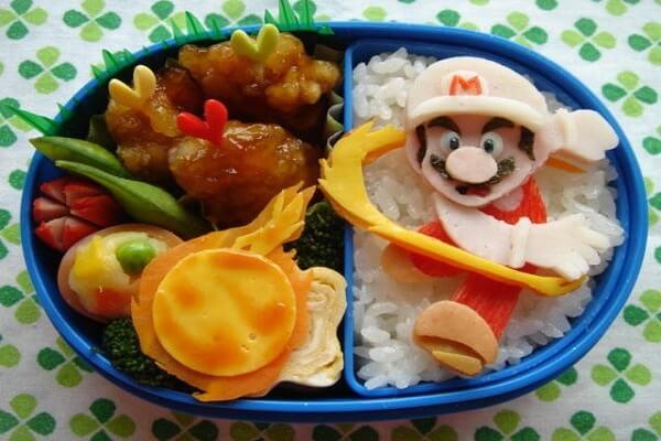 Cơm hộp Bento là gì, Cách làm cơm hộp Bento Nhật Bản, cơm hộp tình yêu với 60+ mẫu cơm đẹp đơn giản 35