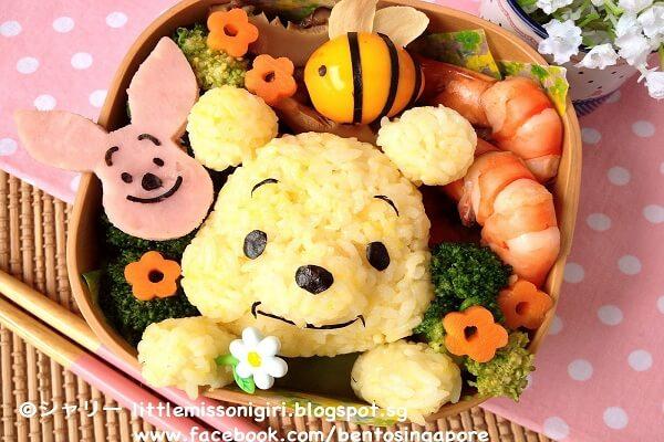 Cơm hộp Bento là gì, Cách làm cơm hộp Bento Nhật Bản, cơm hộp tình yêu với 60+ mẫu cơm đẹp đơn giản 22