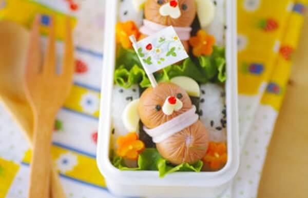 Cơm hộp Bento là gì, Cách làm cơm hộp Bento Nhật Bản, cơm hộp tình yêu với 60+ mẫu cơm đẹp đơn giản 25