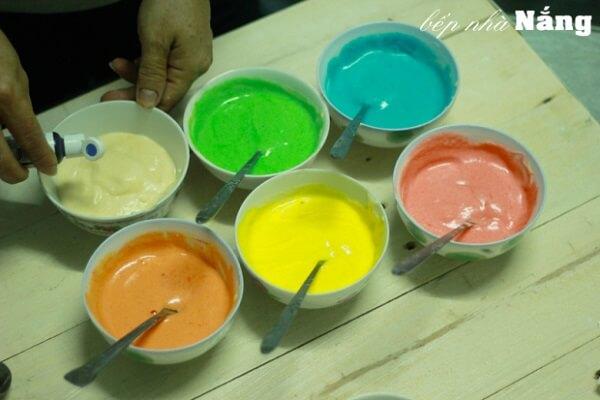Màu thực phẩm dạng gel
