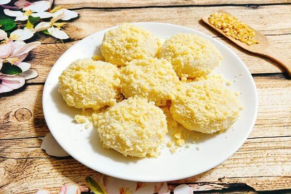 Bánh dày đậu xanh mềm ngon dễ làm cho bé