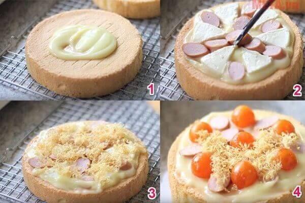 Trang trí bánh cho thêm đẹp mắt