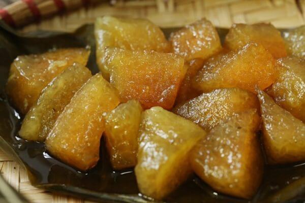 Loại bánh này trước kia thường xuất hiện trong lễ cúng gia tiên của người Việt