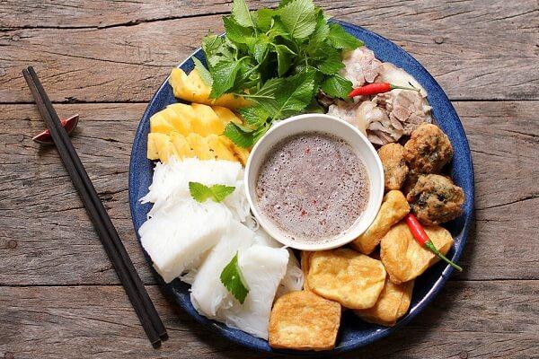 5 cách làm bún đậu mắm tôm Hà Nội, bún đậu mắm tôm lòng rán chả cốm cực ngon và đơn giản