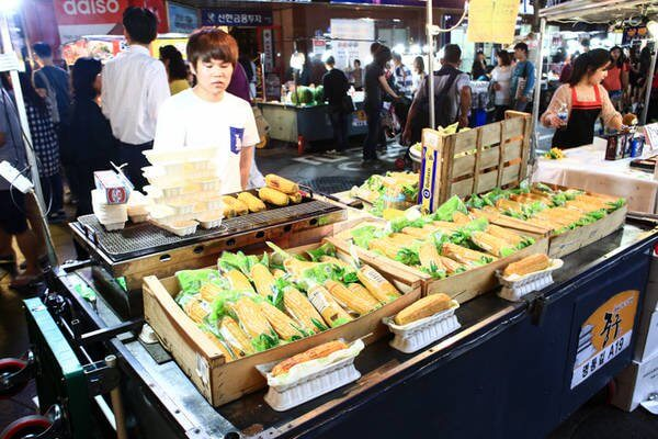 Bắp nướng Hàn Quốc