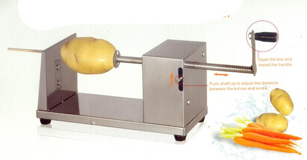Các dụng cụ làm khoai tây lốc xoáy chuyên dụng