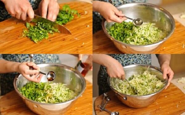 Chọn rau cải thái nhỏ, rửa thật sạch