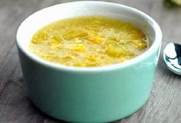 Món chè ngô khoai lang có vị ngọt mát thanh thanh