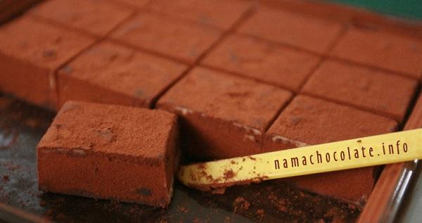 Nama Chocolate có ở Nhật từ những năm 1980