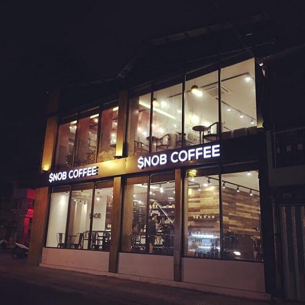 Snob Coffee & Bingsu