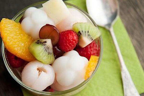 Thạch sữa trái cây