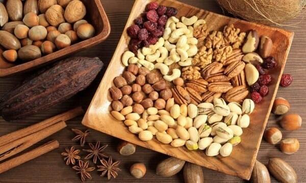 Các loại hạt có vị ngon, ít béo lại giúp mẹ bầu no lâu