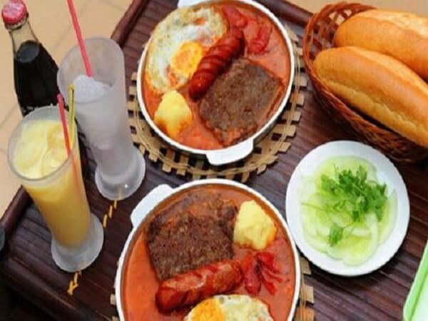 Bánh mì chảo Hà Nội