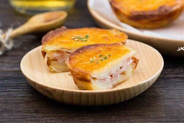 Bánh khoai tây nướng phô mai
