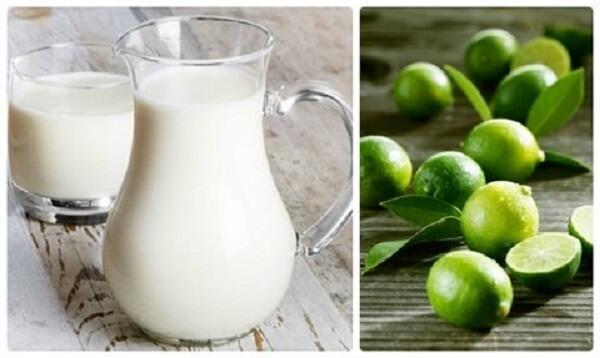 Mặt nạ quả quất và sữa tươi