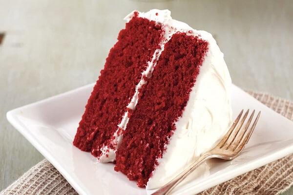 Bánh Red Velet - chiếc bánh của tình yêu