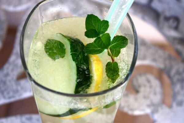 Soda chanh – dưa chuột