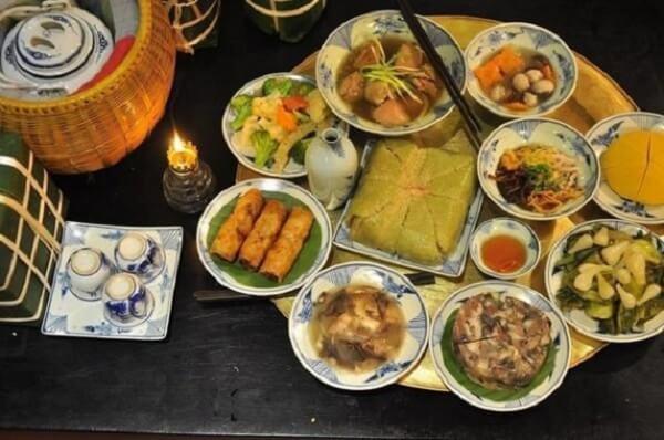 Các món ngon ngày tết miền Bắc trong mâm cỗ truyền thống