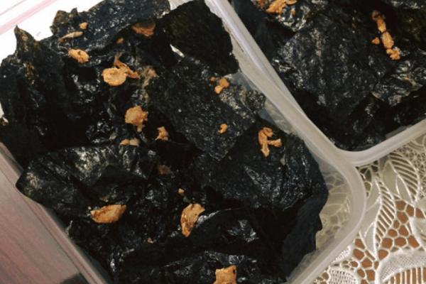 Cách làm rong biển sấy khô tẩm gia vị ăn liền