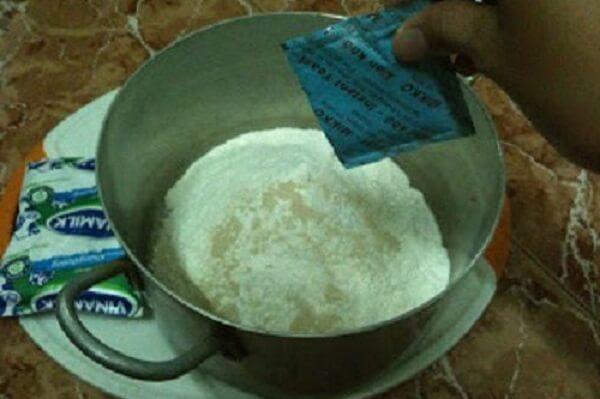 Trộn bột