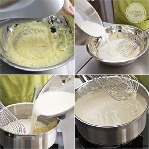 5 cách làm bánh bông lan bằng nồi cơm điện thường, nồi cơm điện Toshiba bánh vẫn thơm ngon hoàn mỹ 1