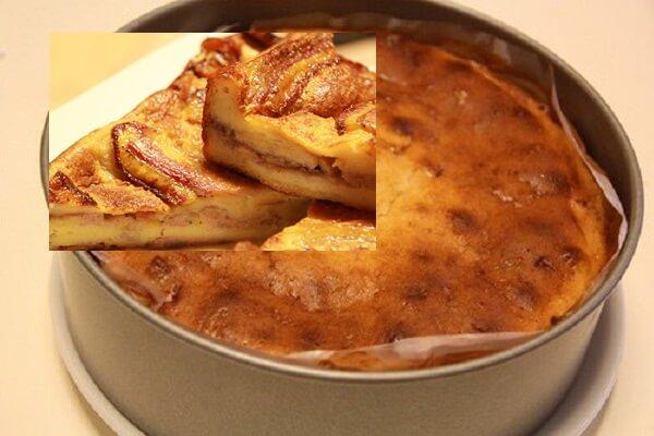 Bánh Pudding chuối bằng lò vi sóng